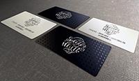 Изготовление уникальных визиток, визитки шелкография